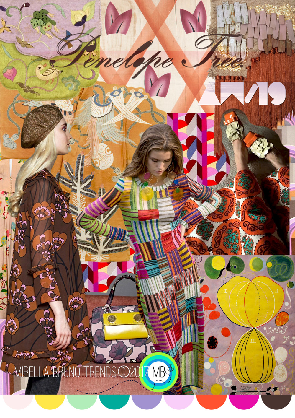 Trend Archive - Mirella Bruno Print Pattern and Trend Designs.